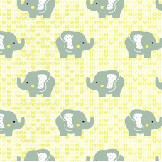 FELT SANTA FE COLLECTION DEBORA RADTKE-FELTRICO YELLOW ELEPHANT